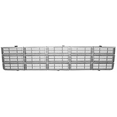 OE Replacement Chevrolet Pickup Grille Assembly (Partslink Number GM1200354)