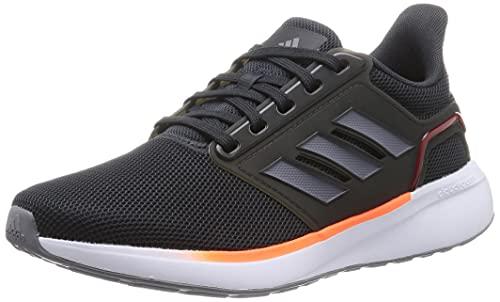 adidas EQ19 Run, Zapatillas de Running Hombre, Carbon/Gris/Rojsol, 39 1/3 EU