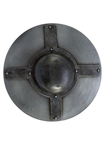 Epic Armoury 403032 Steel Buckler Unisex Erwachsene