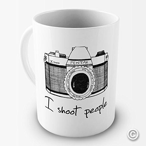 I Shoot People Camera Mug for a Photographer