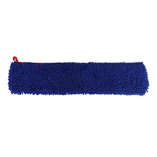 POPETPOP Serviette de Bain pour Animaux de Compagnie en Microfibre Chenille Serviette Ultra absorbante à séchage Rapide Durable Empêcher la Boue, la Boue Lavable Serviette de Toilette (Bleu) Taille