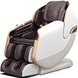 Real Relax 2021 Massage Chair, Zero Gravity SL Track Massage Chair, Full Body Shiatsu Massage Recliner with Shortcut Key Body Scan Bluetooth Heat Foot Roller, PS3100