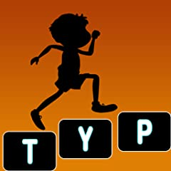 Grab your keyboard for running Highly addicted racing game Run while typing & beat opponent Fun app that teaches how to type fast