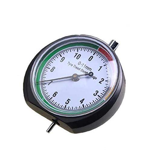 XKJFZ Reifenprofil Tiefenmesser Lineal Autoreifen Attrition Werkzeugmess 0-11mm