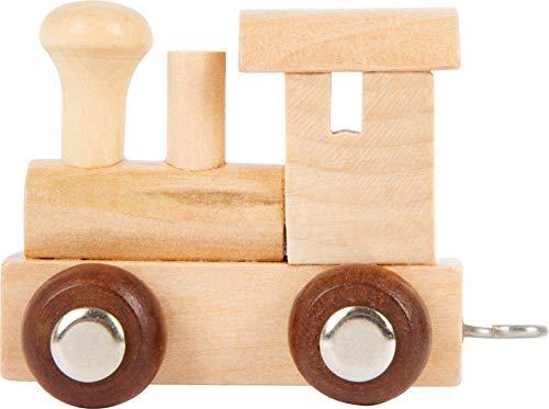 Buchstabenzug   Wunschname zusammenstellen   Holzeisenbahn   EbyReo® Namenszug aus Holz   personalisierbar   auch als Geschenk Set (Lokomotive)