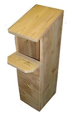 Tawny Owl Box - Cedar - Owl Nester - Premium Quality by LEEWAY WOODWORK