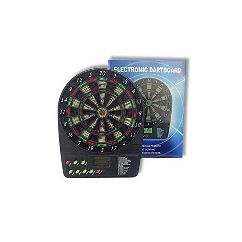 Kast Set Dartbord Elektronische Dartbord Set Klein Doel De Veiligheid Dart Automatische Scoring Soft Darts Met 6 Darts