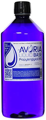 Avoria Deutsche Liquid Basen 0mg/ml Propylenglykol (PG), 1er Pack (1 x 1 l)