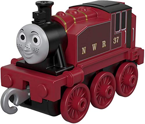 Thomas & Friends Thomas and Friends GDJ45 Trackmaster Push Along Rosie - Motor de Tren de Metal, Multicolor