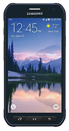 Samsung Galaxy S6 Active G890A 32GB Unlocked GSM 4G LTE Octa-Core Smartphone w/ 16MP Camera - Camo Blue (Renewed)