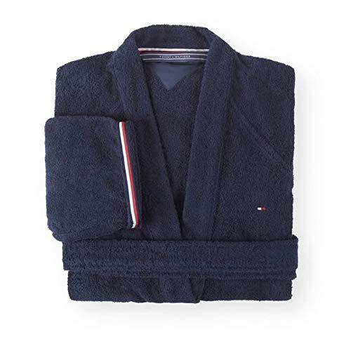 Tommy Hilfiger - Kimono (talla M), color azul marino