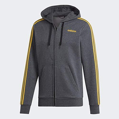 adidas E 3s Fz FL Herren-Sweatshirt XXL brgros / Gold