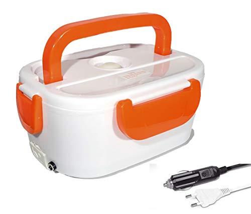 Self Ideas - Fiambrera eléctrica con Capacidad de 1 litro. Calentador de...