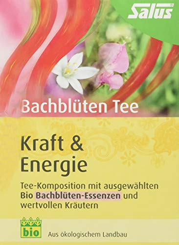 Salus Bachblüten-Tee Kraft und Energie Bio 15 FB (1 x 30 g)