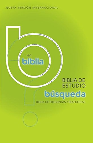 Biblia de estudio búsqueda NVI: Más de 5,000 respuestas a las preguntas más dificiles (Spanish Edition)