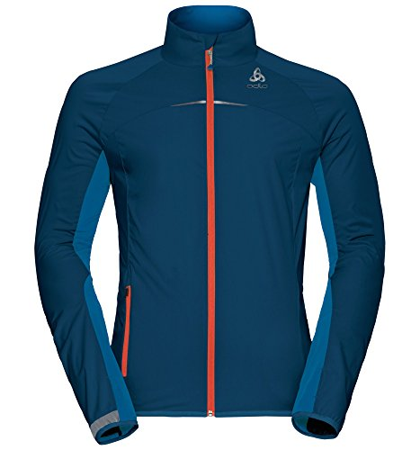 Odlo Herren Jacket ZEROWEIGHT Logic Jacken, Blue Opal - Mykonos Blue, S
