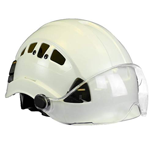 Malta Dynamics Safety Helmet (Helmet with Clear Anti-Scratch Visor)