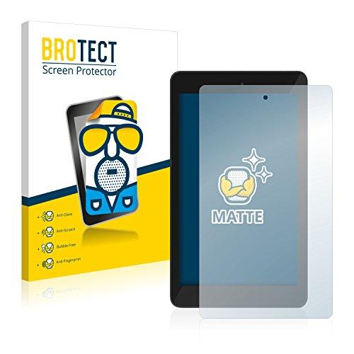 BROTECT 2X Entspiegelungs-Schutzfolie kompatibel mit TrekStor SurfTab xintron i 7.0 Bildschirmschutz-Folie Matt, Anti-Reflex, Anti-Fingerprint