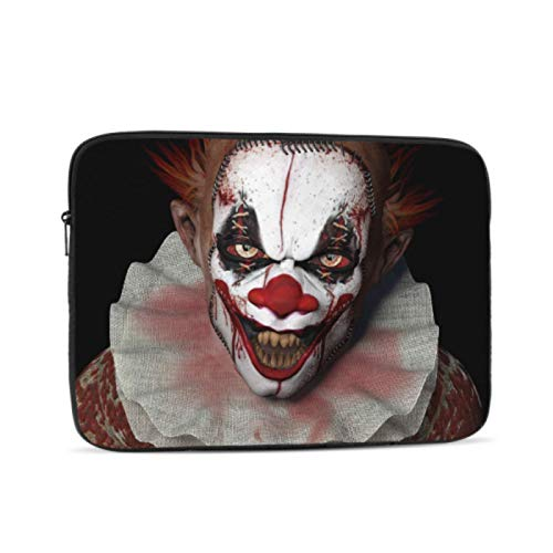 New MacBook Air Case Evil Scary Clown Monster Mac Cases Multi-Color & Size Choices 10/12/13/15/17 Inch Computer Tablet Briefcase Carrying Bag