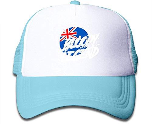 Rogerds Kids Boys Girls Lazarbeam Logo Print Baseball Cap Flat Brim Hats Hip Hop Snapback Sun Hat for Boys Girls