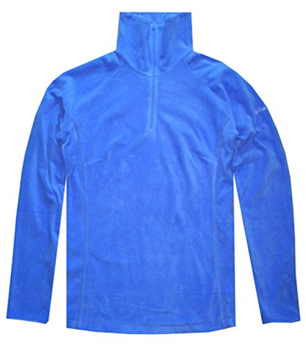 Columbia Women Arctic Air Fleece 1/2 Zip Pullover Sweatshirt (S, Light blue)