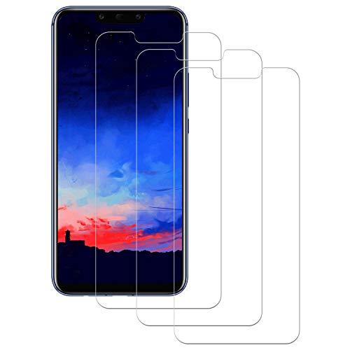 DASFOND 3 Unidades Protector de Pantalla para Huawei Mate 20 Lite, Protector Pantalla para Huawei Mate 20 Lite Vidrio Cristal Templado,[Sin Burbujas][9H Dureza][Alta Definición y Sensibilidad ]