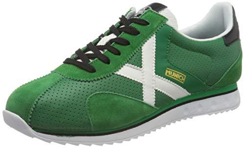 Munich SAPPORO 80, Zapatillas Adulto, Verde, 46 EU