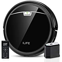 Ilife 2000Pa Max Suction Smart A4s Pro Robot Vacuum with ElectroWall, Remote Control, Slim, Thin, Quiet, Self-Charging