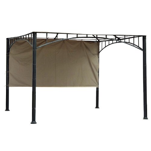 Garden Winds 12' Universal Pergola Side Sunshade - Beige