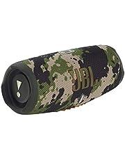 JBL Charge 5 Bluetooth-luidspreker in Camouflage – waterdichte, draagbare boombox met geïntegreerde powerbank – met slechts één batterijlading tot 20 uur draadloos muziek streamen