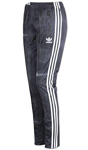 adidas M Moon Sgirl TP–Damen Hose, Grau/Weiß 38 grau/weiß