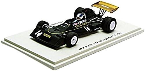 BRM P160E No.14 Jean-Pierre Beltoise 5th Silberina GP 1974