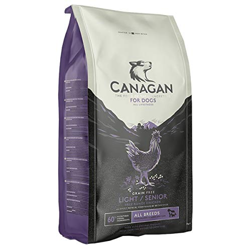 Canagan Free-Run Chicken Light/Senior 12 kg - CIBO SECCO PER CANI Anziani e Sovrappeso Con Pollo
