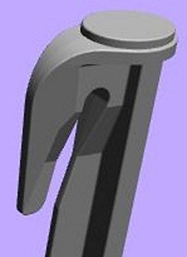 genisys Haken Erdspieße für Mähroboter Zubehör Set Befestigung für Begrenzungskabel Suchkabel Kabelhalter Gardena Bosch Husqvarna Worx Honda ROBOMOW iMow (100)
