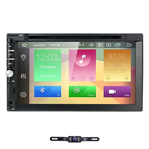 Android 10 Car Radio Radio con Navi y Reproductor de DVD 4GB / 8 Core Admite Bluetooth Dab + USB CD DVD Android Car WiFi 4G MicroSD 2 DIN Pantalla de 7 Pulgadas Universal