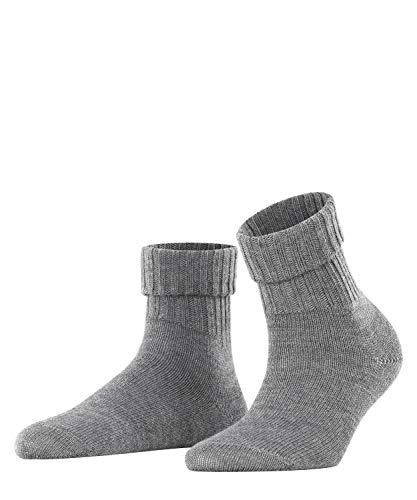 BURLINGTON Damen Socken Plymouth, 91prozent Schurwolle, 1 Paar, Grau (Dark Grey 3070), Größe: 36-41