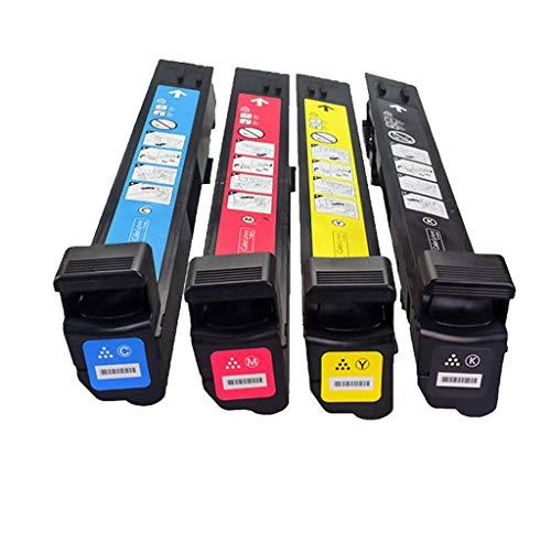 Compatibel met HP CB380A tonercartridge voor 823A Toner Cp6015de Cp6015xh Color Printer Cartridge, Rood (4Kleuren)