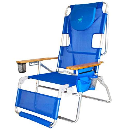 Ostrich 16in Altitude 3N1 Beach Chair & Lounger - Blue