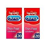 Durex Feel Thin Condom - 10 Pcs (Pack of 4)