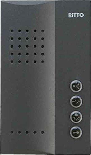 Ritto 1713240 - Interfono compacto, color negro