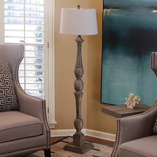 Décor Therapy PL3734 Floor lamp, Warm Grey