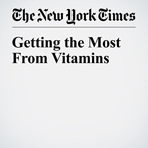 Getting the Most From Vitamins copertina