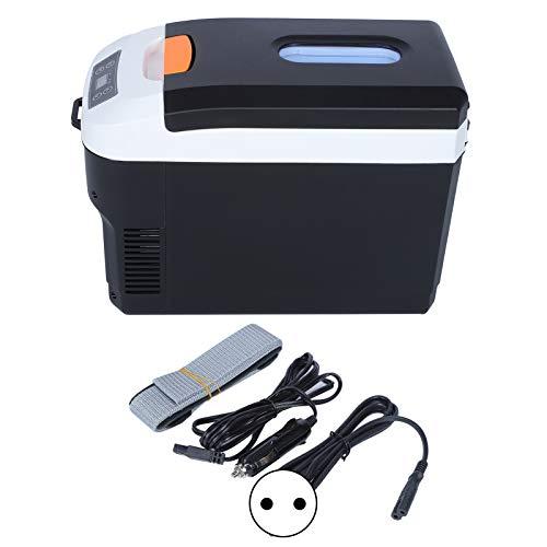 Omabeta 10L tragbarer intelligenter Digitaldisplay-Minikühlschrank Dual-Use-Gefrierschrank für Home-Office-Reisen mit dem Auto(EU)