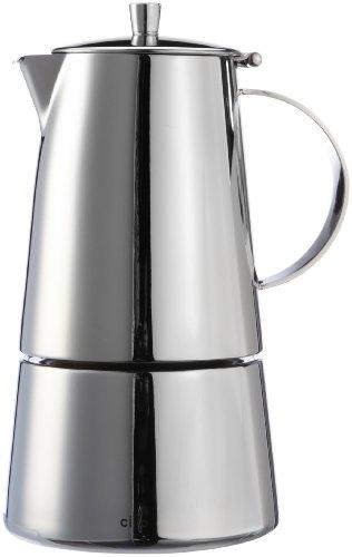 Cilio Espressokocher Treviso 6 Tassen, Edelstahl, Induktion geeignet