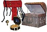 Disney Pirates of The Caribbean at World's End Jack Sparrow Pirate Gear Chest