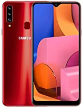 "Samsung Galaxy A20s (SM-A207F/DS) Dual SIM, 32GB, 6.5"", GSM Factory Unlocked - International Version - No Warranty - Red"