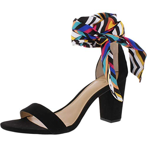 INC International Concepts Womens Kanataf Open Toe Special, Multicolor, Size 6.5