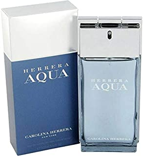 Herrera Aqua by Carolina Herrera for Men - Eau de Toilette, 100ml