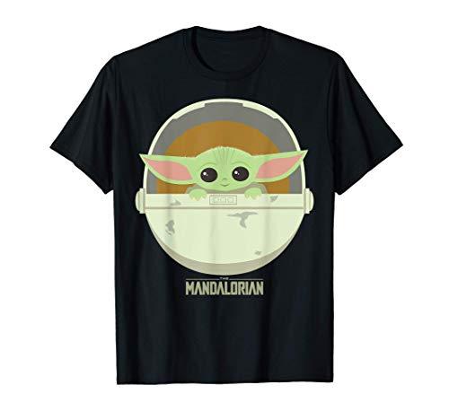 Star Wars The Mandalorian The Child Bassinet Portrait T-Shirt