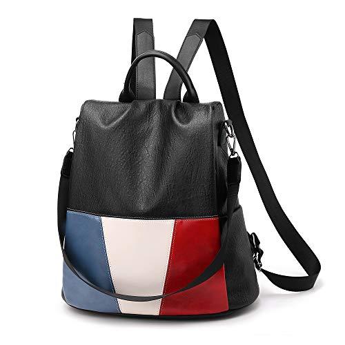 Hanggg Zaino in tessuto Oxford borse moda selvaggia Zaino antifurto da viaggio Europa e America